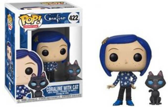 422 Coraline Coraline With Cat Toys Collectables Funko Funko Pop Pop Animation Random Pop Animation Wii Play Games West