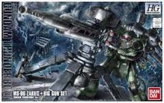 HG Gundam - Gundam Thunderbolt - Zaku & Big Gun