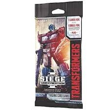 Transformers TCG: War for Cybertron - Siege Booster Pack