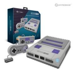 RetroN 2 HD Gaming Console for NES®/ SNES®/ Super Famicom™ (Grey) - Hyperkin
