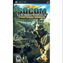 Socom - U.S. Navy SEALs - Fireteam Bravo (PSP)