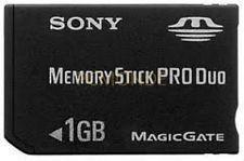 PSP Memory Stick Pro Duo 1GB