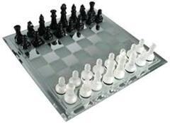 Chess Set - Mirror Board Glass Set