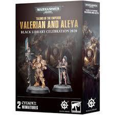 Warhammer 40,000 - Valerian and Aleya