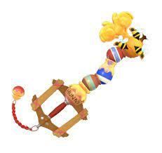 Kingdom Hearts Keyblade - Winnie the Pooh