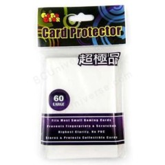 Card Protector (Matte White) - Standard Sleeves - 60ct