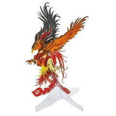 3D Paper Puzzle - Phoenix