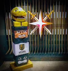 Vegas Golden Knights - Mascot Tiki Tiki Totem