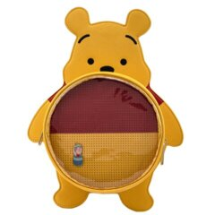 Loungefly - Disney Winnie The Pooh Pin Trader Convertible Backpack