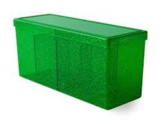 Dragon Shield Gaming Box - Four Compartment - Emerald