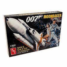 007 Moonraker - Space Shuttle Model 1/200