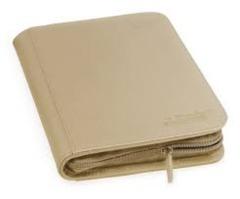 Sand 4-Pocket ZipFolio Binder (Ultimate Guard)