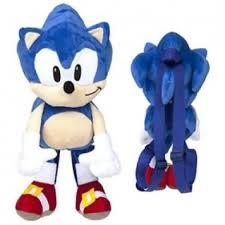 Plush Backpack - Sonic the Hedgehog