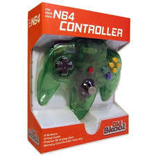 Old Skool - N64 Controller - Jungle Green