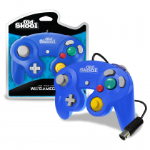 Old Skool Special Edition Blue - Wii/Gamecube Controller