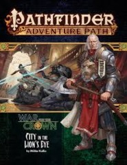 Pathfinder: Adventure Path - War for the Crown - City in the Lions Eye