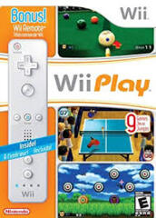 Wii Play with Controller Bundle