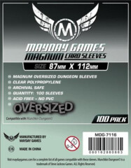 Magnum Platinum Oversize Sleeves (87 X 112 MM)