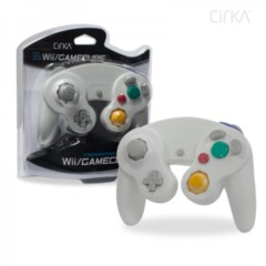 Cirka Pearl White Wii/Gamecube Controller - Wired