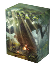 Legion Deck Box Lands Forest