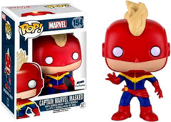 #154 Captain Marvel Masked (Marvel) - GTS Exclusive