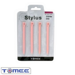 Pink - Tomee  Stylus Pen 4-Pack (DSi/ DS Lite)