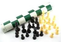 First Chess Tournament Men & Roll-Up Mat