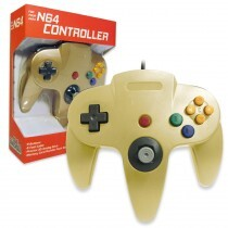 Old Skool - N64 Controller - Gold