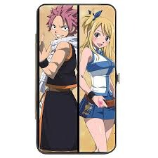 Hinged Wallet - Fairy Tail - Characters