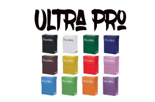 Ultra pro deck boxes