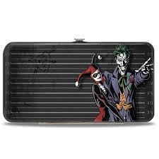 Hinged Wallet - Harley and Joker
