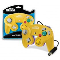 Old Skool Special Edition Yellow/Purple - Wii/Gamecube Controller