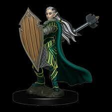 Icones of the Realms - Elf Paladin