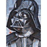 Darth Vader - Star Wars Photomosaics (1000 Piece Puzzle)