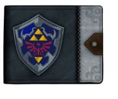 Bi Fold Wallet - Zelda Shield