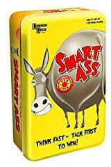 Smart Ass: The Card Game Tin