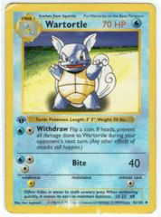 Wartortle - 42/102 - Uncommon - 1st Edition - Shadowless