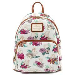 Loungefly - Disney Pricess Floral Mini Backpack