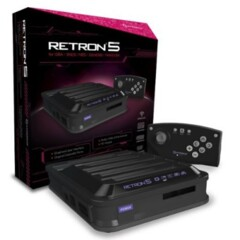 Retron 5 Black for GBA / SNES / NES / Genesis / Famicom