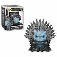 #74 Game of Thrones - Night King on Throne