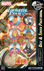 Marvel HeroClix: Fantastic Four Dice and Token Pack