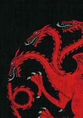 House Targaryen - A Game of Thrones Standard Sleeves 50 Ct (in Store Sales Only)