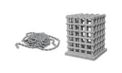 D&D Unpainted Minis - Cage & Chains