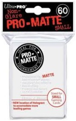 Ultra Pro Pro-Matte Small Sleeves - White (60ct).