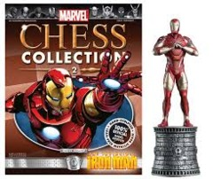 Marvel Chess Pieces: Iron Man (White Bishop)