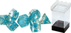 Gate Keeper Dice - Neutron Dice - Glacier - 7 Dice Set