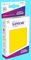 Ultimate Guard Supreme UX Sleeves Japanese Size Yellow