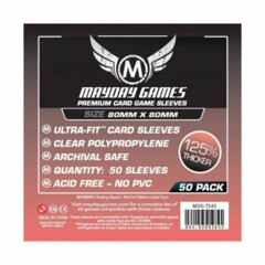 Mayday Games - Medium Square Card 80x80mm (100)
