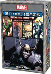 Marvel Strike Teams - A Heroclix Strategy Game - Avengers Initiative