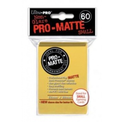 Ultra Pro Pro-Matte Small Sleeves - Yellow (60ct).